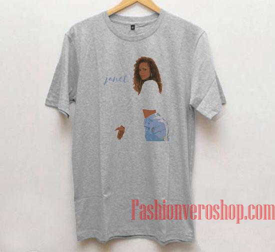 Sexy Unique Janet Jackson Unisex adult T shirt