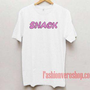 Snack Unisex adult T shirt