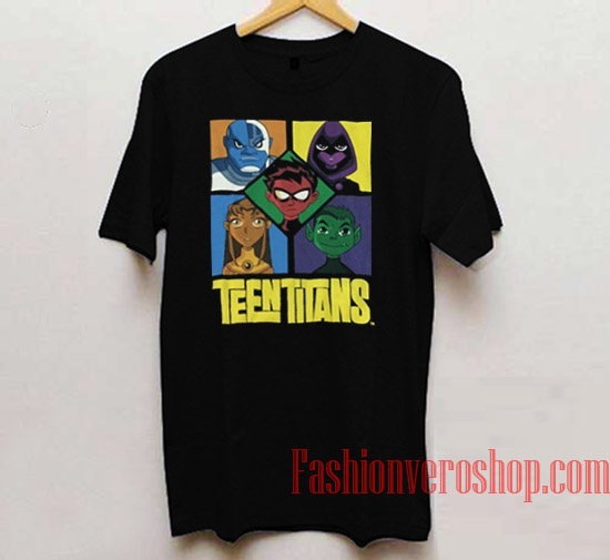 Teen Titans Unisex adult T shirt