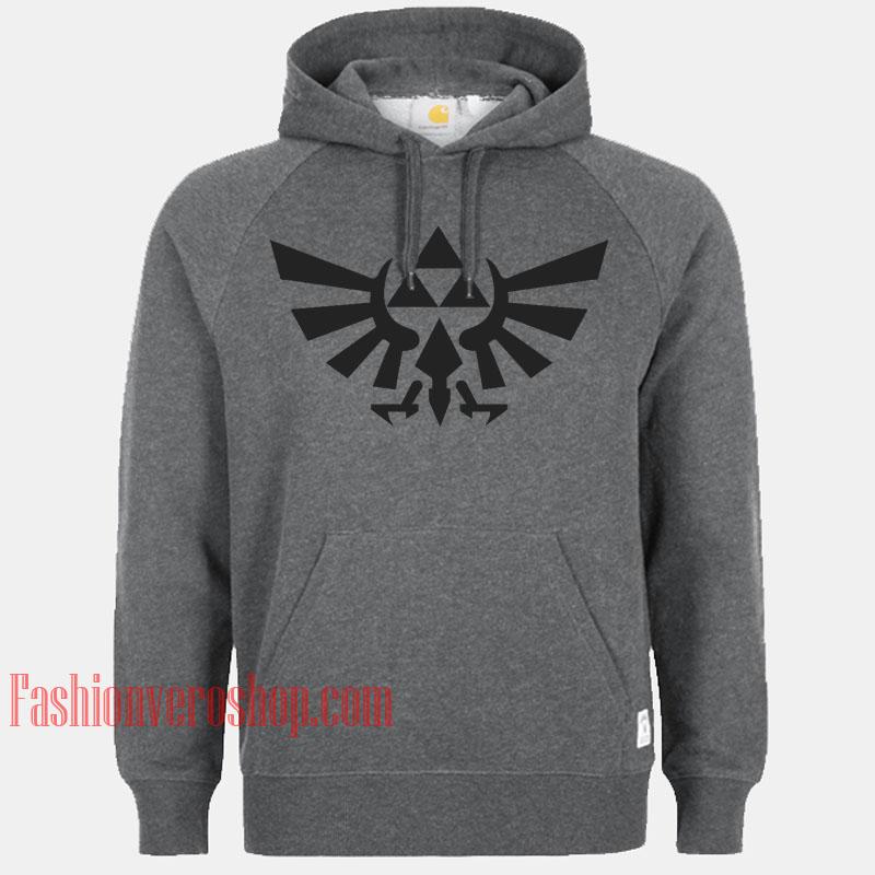 Zelda Skyward Sword Crest HOODIE - Unisex Adult Clothing