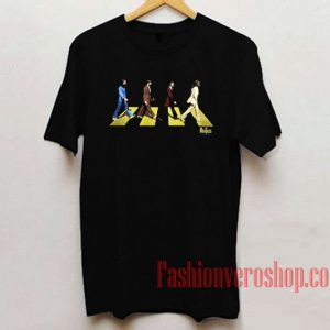 Abbey Road The Beatles Unisex adult T shirt
