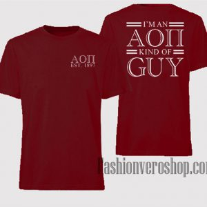 Aoii Est 1897 Kind Of Guy Unisex adult T shirt
