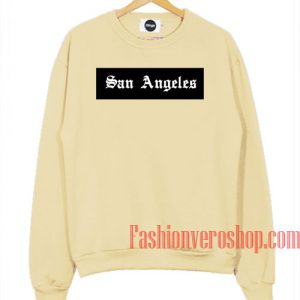 San Angeles Cream Sweatshirt
