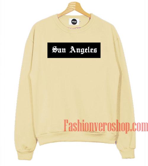 San Angeles Cream Sweatshirt