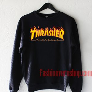 Thrasher Fire Magazine Sweatshirt