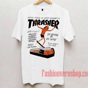 Thrasher Neck Face Vs Peter Ramondetta Unisex adult T shirt