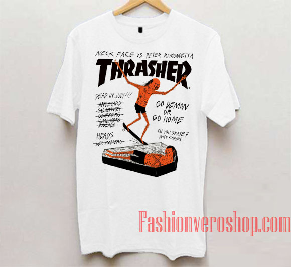 Thrasher Neck Face Vs Peter Ramondetta Unisex adult T shirt 39d9697b06