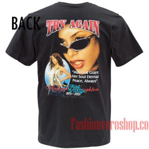 Try Again Aaliyah Haughton Unisex adult T shirt