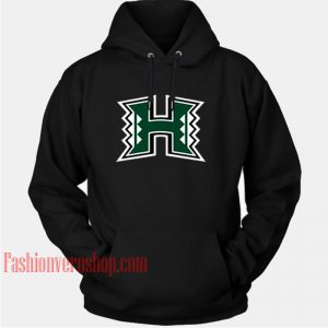 University Of Hawaii Logo HOODIE - Unisex Adult Clothing