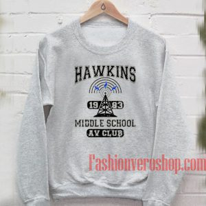 Vintage Hawkins 1983 Middle School Sweatshirt