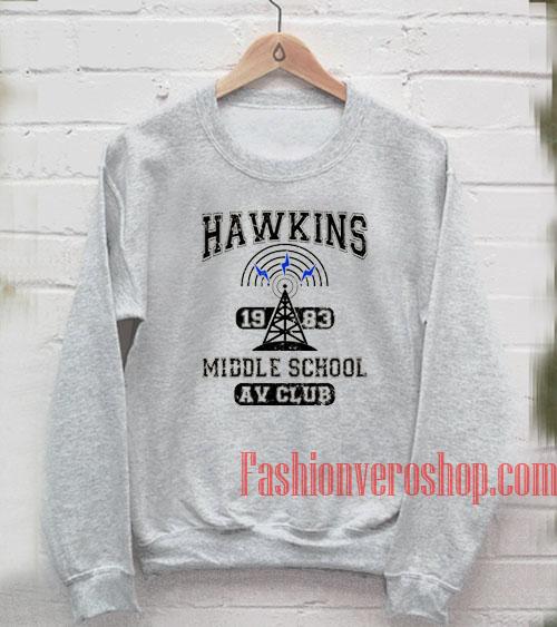 Vintage Hawkins 1983 Middle School Sweatshirt