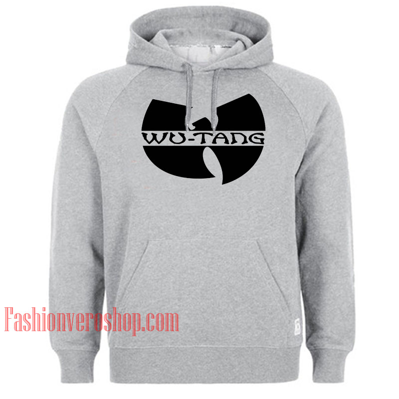 Wu Tang Clan Logo HOODIE - Unisex Adult Clothing