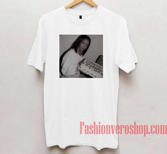 9afec6162 Aaliyah Birthday Unisex adult T shirt