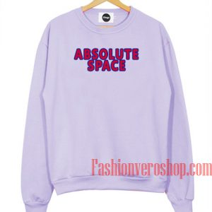 Absolute Space Light Purple Sweatshirt