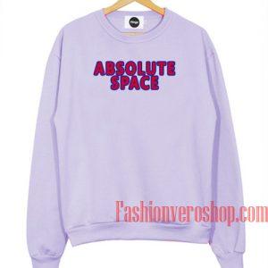 Absolute Space Light Purple Sweatshirt