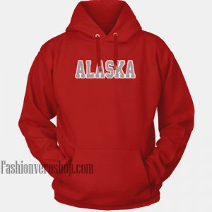 Alaska Red HOODIE - Unisex Adult Clothing