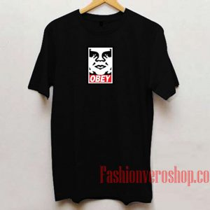 Obey Logo Unisex adult T shirt