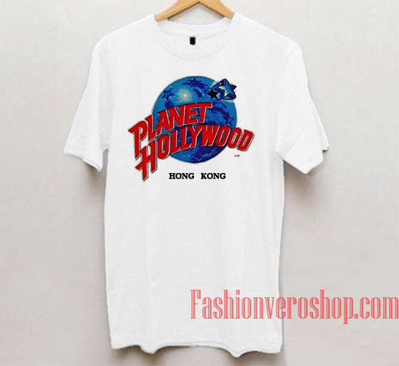 Planet hollywood hong kong unisex adult t shirt for Planet hollywood t shirt