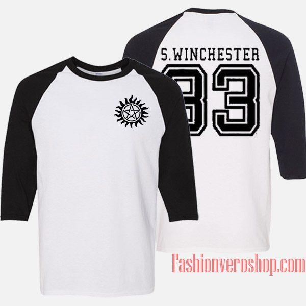 S Winchester 83 Raglan Unisex Shirt