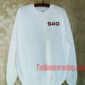 SHO White Sweatshirt