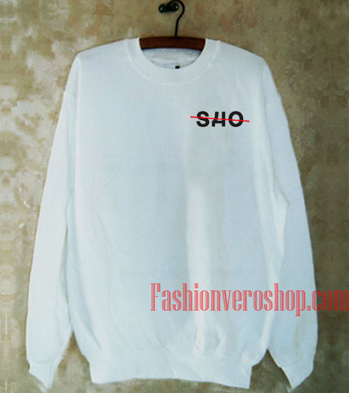 SHO White Sweatshirt