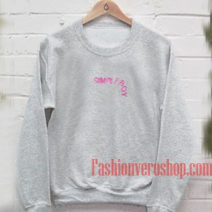 Simpleboy Grey Sweatshirt