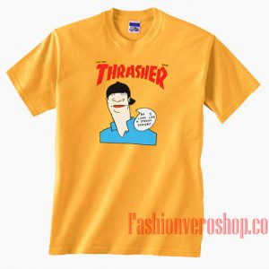 Thrasher Gonz Cover Yellow Gold Unisex adult T shirt