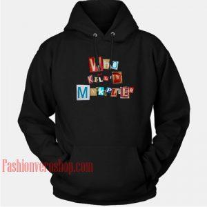 Who Killed Markiplier HOODIE Unisex Adult Clothing