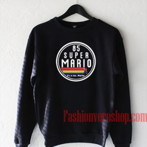 85 Super Mario Sweatshirt