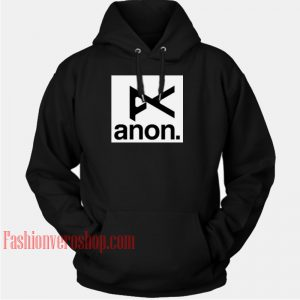 Anon Logo HOODIE - Unisex Adult Clothing