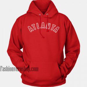 Atlanta Red HOODIE - Unisex Adult Clothing