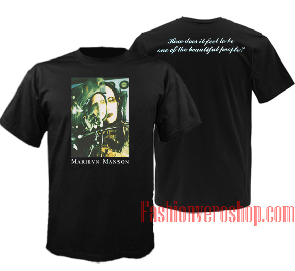 1fe25f4cd5a Marilyn Manson Beautiful People Unisex adult T shirt – fashionveroshop