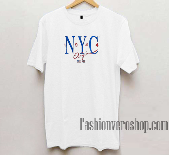 NYC 1984 Original Unisex adult T shirt d86b61b2273