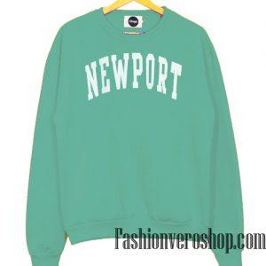 Newport Green Pastel sweatshirt