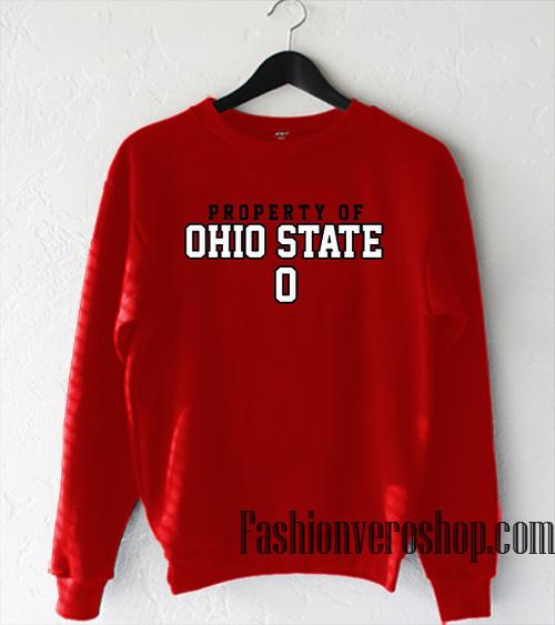 Property of Ohio State Sweatshirt