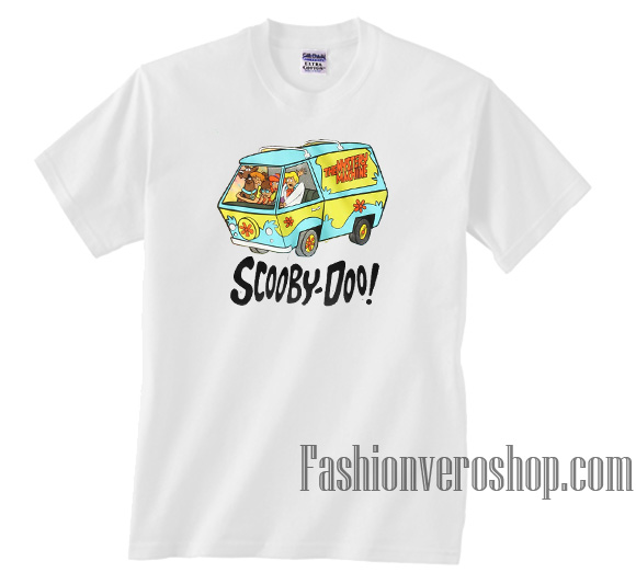 c3f92298 Scooby Doo The Mystery Machine Unisex adult T shirt