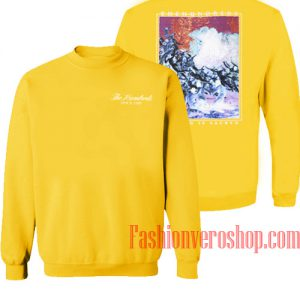 The Hundreds Nothing Is Sacred Yellow Sweatshirt