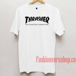 Thrasher Skateboard Magazine Unisex adult T shirt