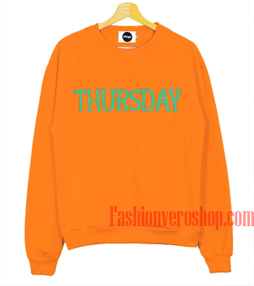 Thursday Orange Sweatshirt