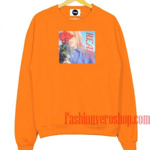 Uss My Heart Orange Sweatshirt