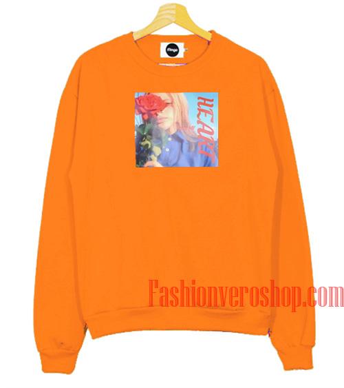 Uss My Heart Orange Sweatshirt