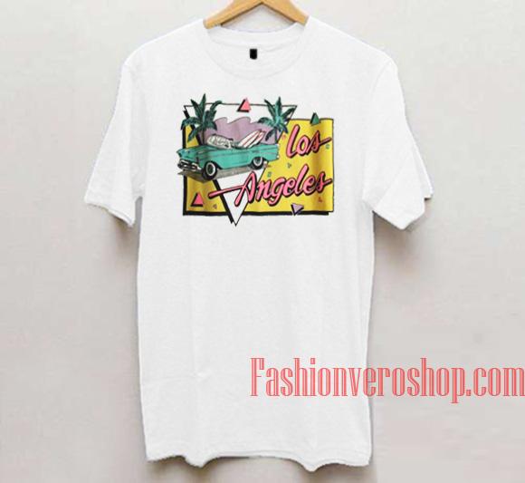 b8e53799 Vintage Los Angeles Unisex adult T shirt