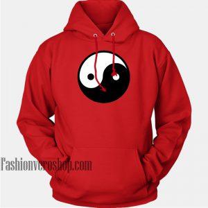 Yin Yang Symbol HOODIE - Unisex Adult Clothing