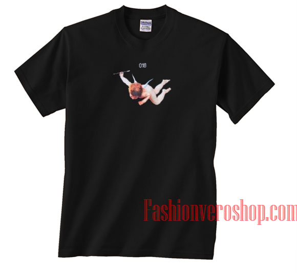 018 Flying Angel Unisex adult T shirt