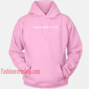 1-800-Basement Ting HOODIE - Unisex Adult Clothing