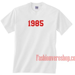 1985 Unisex adult T shirt
