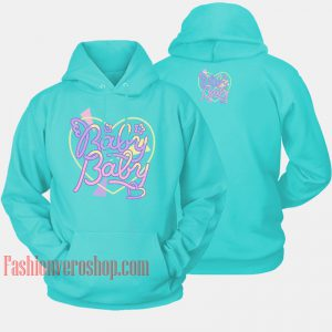 Angel Baby Logo Mint Color HOODIE - Unisex Adult Clothing