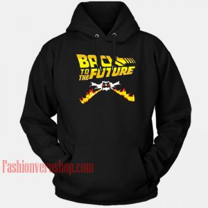 Back To The Future HOODIE - Unisex Adult Clothing