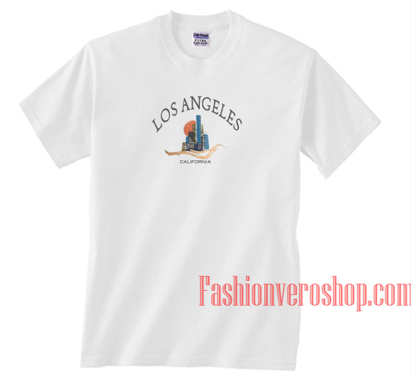 Los angeles california unisex adult t shirt for Los angeles california shirt