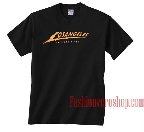 0bdf6551 Los Angeles Lightning Bolt Unisex adult T shirt